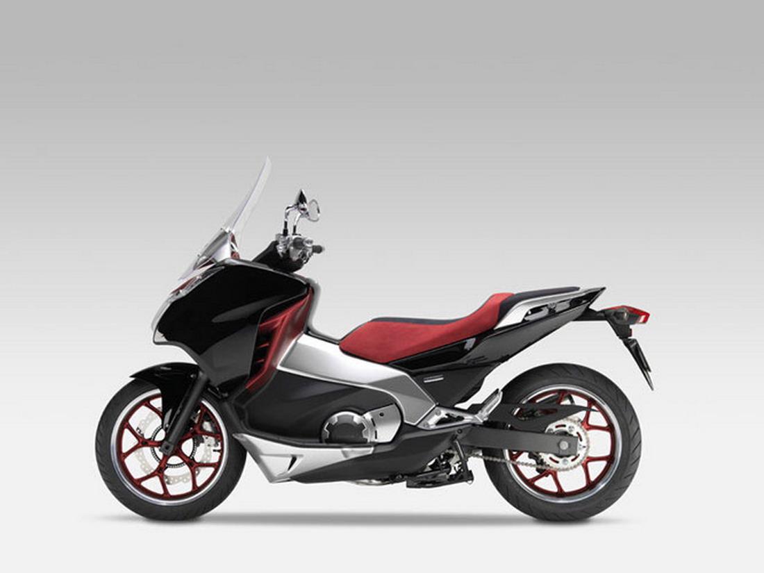 Kawasaki Scooter Hybrid